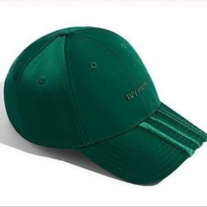 Ivy Park Adidas Dark Green Baseball Cap NWT